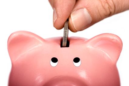 Att spara pengar kontinuerligt hjälper dig att bygga upp en besparing